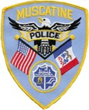 Muscatine Police Patch