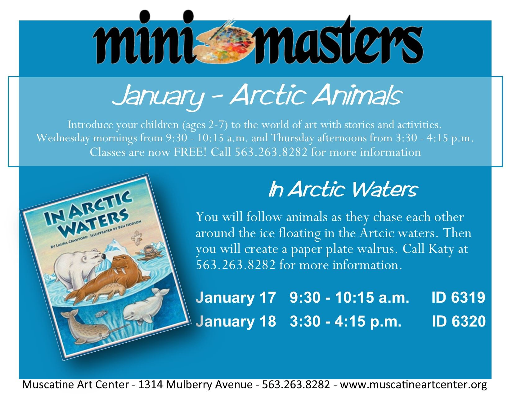 January 17-18 - Mini Masters - In Artic Waters