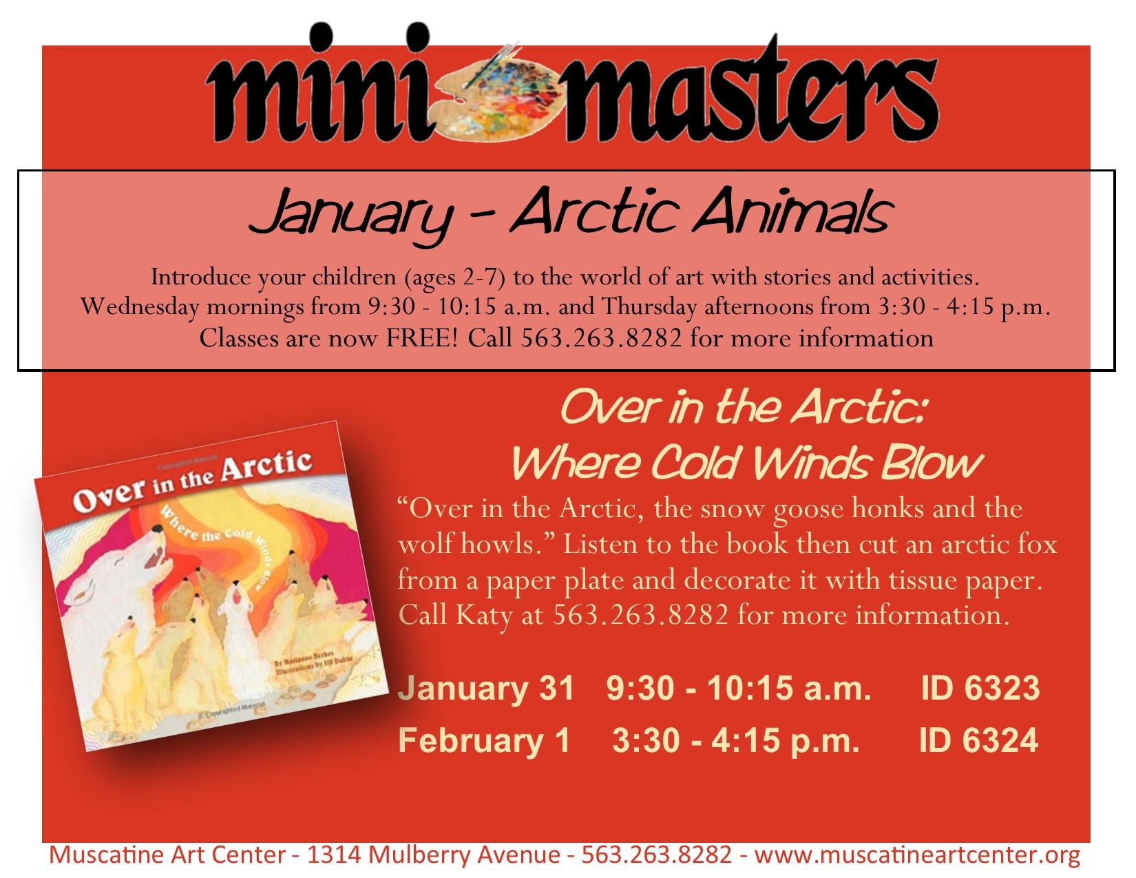 January 31 1 - Mini Masters -Over in the Arctic - Where the Cold Winds Blow