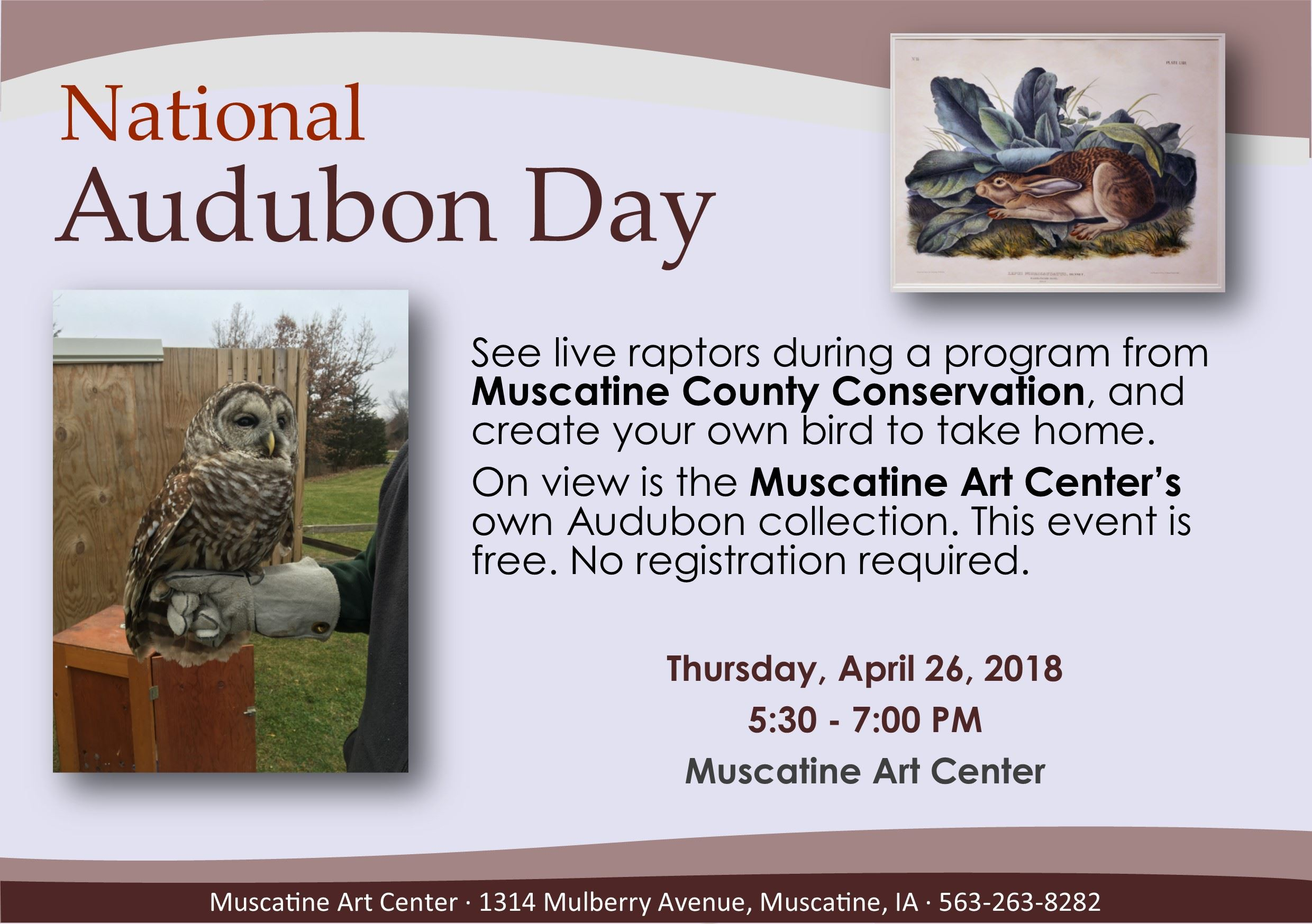 04 - 26 National Audobon Day