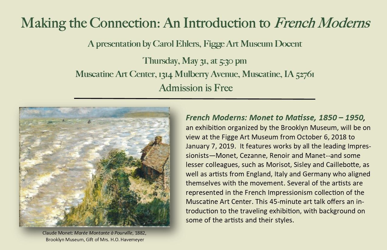 Making the Connection - An Introduction to French Moderns