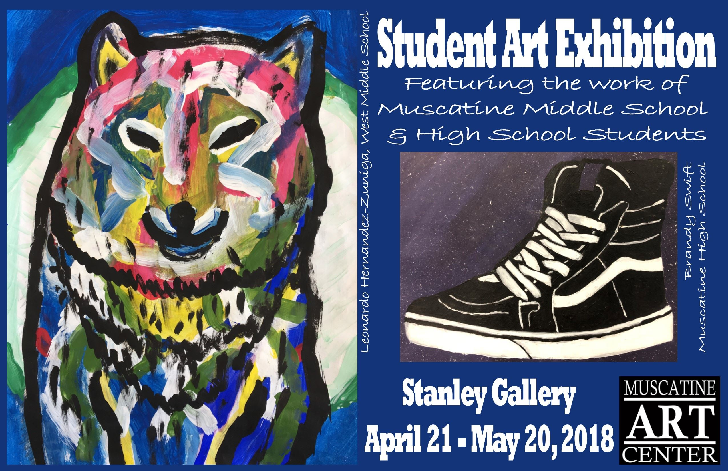 Student Exhibit 2018 Post Card Front