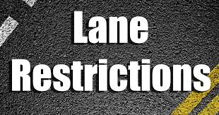 Lane Restrictions