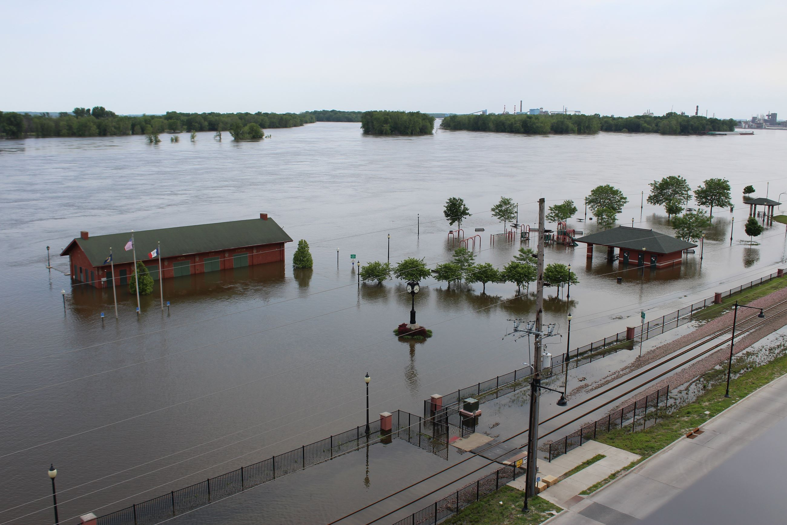 Flooded Riverside Park 001 June 03, 2019 (JPG)