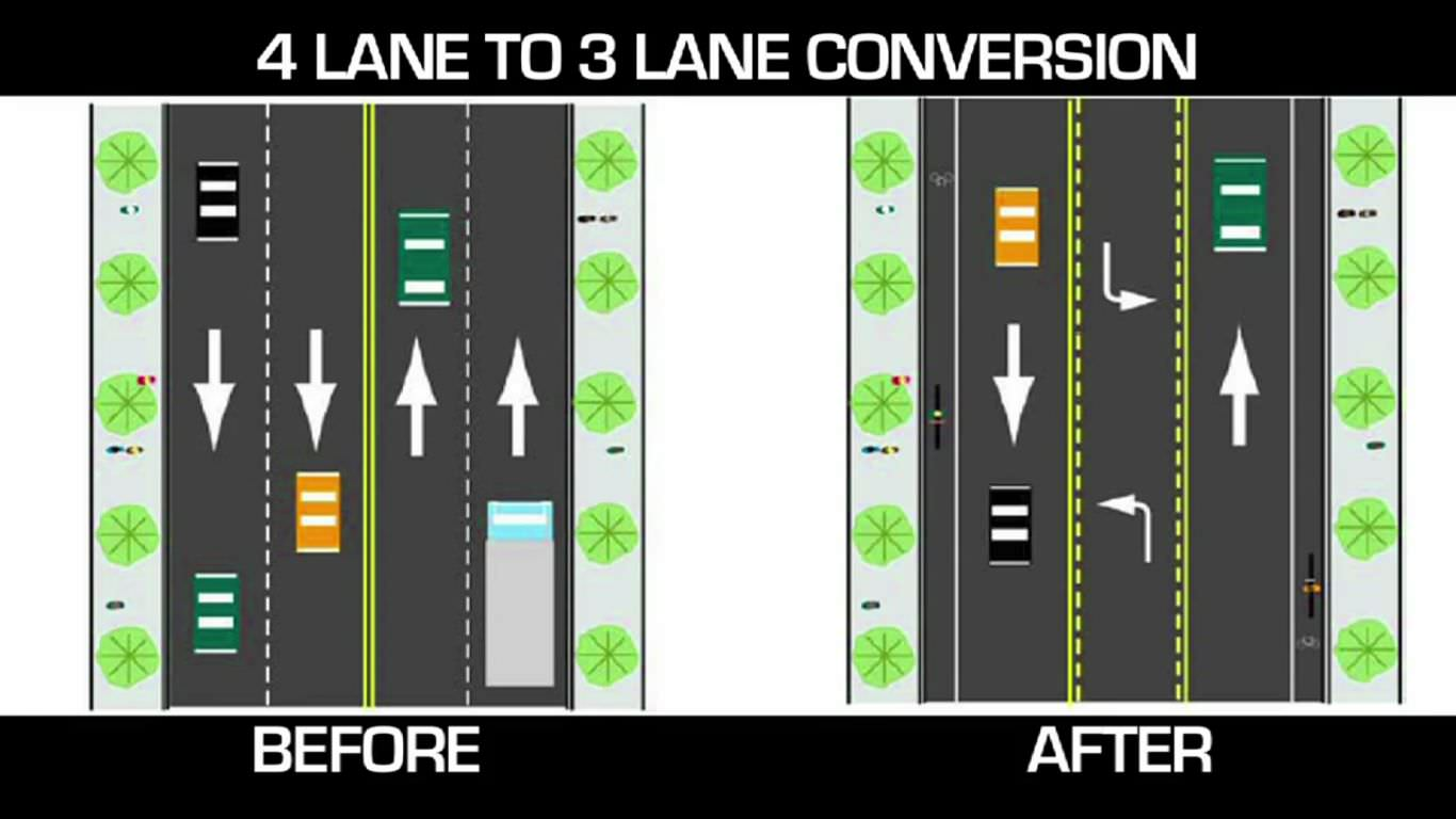 4 Lane to 3 Lane Conversion (JPG)