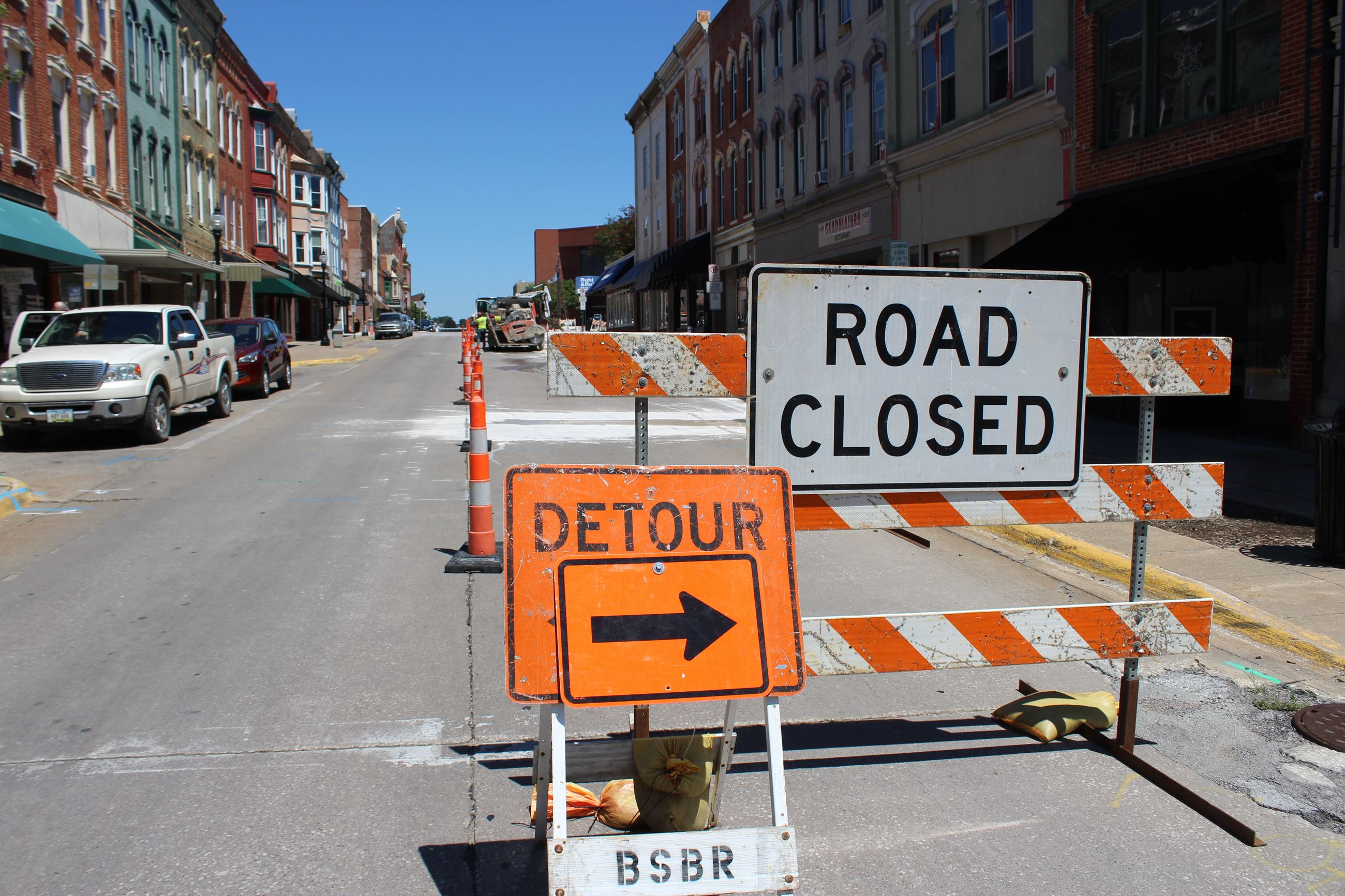 072820 2nd Street - Work begins in 200 block of East 2nd Street 002 (JPG)